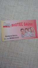 Foto relacionada com a empresa Biotec Saúde Andarai