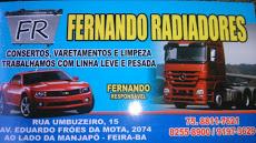 Foto relacionada com a empresa Fernando do Radiador