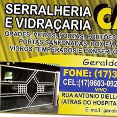 Foto relacionada com a empresa Serralheria e Vidraçaria Cajobi Ltda.