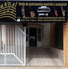 Foto relacionada com a empresa SAM MUSICAL LOJA DE INSTRUMENTOS MUSICAIS E ACESSÓRIOS