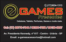 Foto relacionada com a empresa E-Games Presentes