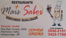 Foto relacionada com a empresa Restaurante e Pizzaria Mais Sabor