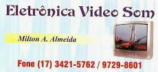 Foto relacionada com a empresa Eletronica Vídeo Som