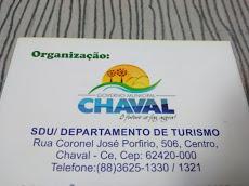 Foto relacionada com a empresa Departamento de Turismo de Chaval