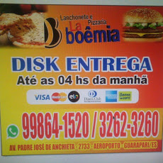 Foto relacionada com a empresa lanchonete e pizzaria La Boêmia