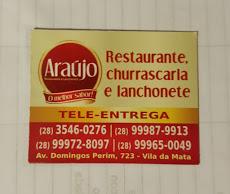 Foto relacionada com a empresa Lanchonete Araújo