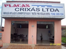 Foto relacionada com a empresa Placas Crixás Ltda