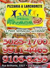 Foto relacionada com a empresa Pizzaria Irmãos Milhomem