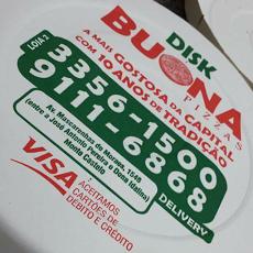 Foto relacionada com a empresa Buona Pizzas Mascarenhas
