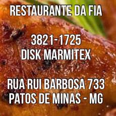 Foto relacionada com a empresa Restaurante da Fia