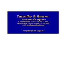 Foto relacionada com a empresa CARVALHO E GUERRA CORRETORA DE SEGUROS