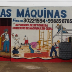 Foto relacionada com a empresa Casa das maquinas aluguel de equipamentos