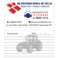 Foto relacionada com a empresa BB DISTRIBUIDORA DE PEÇAS