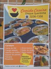 Foto relacionada com a empresa Comida Caseira