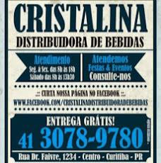 Foto relacionada com a empresa Cristalina Distribuidora de Bebidas