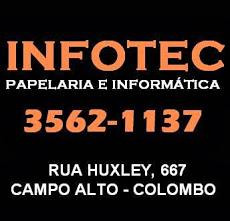 Foto relacionada com a empresa Infotec - Informática e Papelaria
