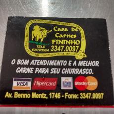 Foto relacionada com a empresa Casa de Carnes Fininho ltda