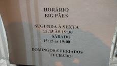 Foto relacionada com a empresa Padaria Big Pães