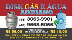 Foto relacionada com a empresa Adriano Disk Gás e Água