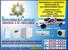 Foto relacionada com a empresa Refrigeração Carvalho e Ar Condicionado