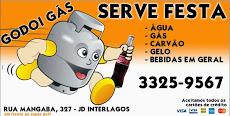 Foto relacionada com a empresa Godoi Gás , Água e Serve-festa